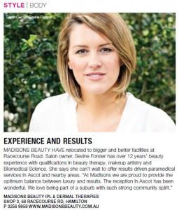 madisons beauty salons ascot brisbane