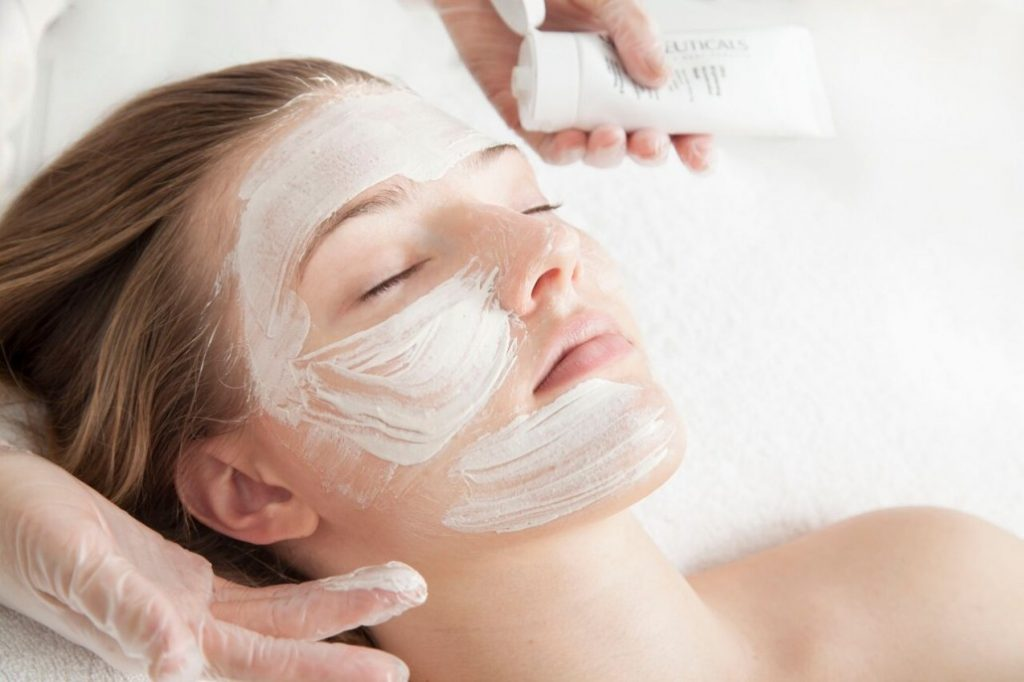 unwanted facial hair removal using dermaplaning