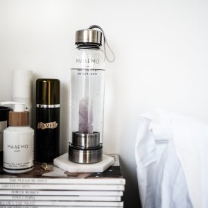 Maaemo Amethyst Crystal Infusion™ Water Bottle