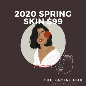 2020 Spring Skin Facial