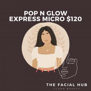 Pop N Glow Express Microdermabrasion