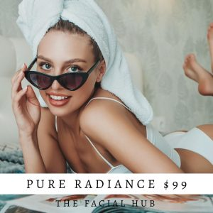 Pure Radiance Christmas Facial Brisbane